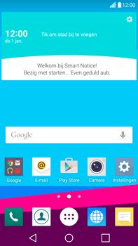LG H815 G4 - E-mail - e-mail instellen: IMAP (aanbevolen) - Stap 1