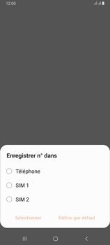 Samsung Galaxy A80 - Contact, Appels, SMS/MMS - Ajouter un contact - Étape 5