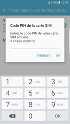 Samsung Galaxy S7 Edge - Sécuriser votre mobile - Personnaliser le code PIN de votre carte SIM - Étape 8
