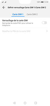 Huawei P20 - Android Pie - Prise en main - Comment activer un code SIM - Étape 8