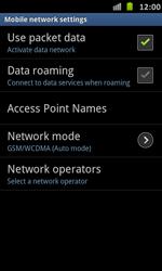 Samsung Galaxy S Advance - Internet and data roaming - Manual configuration - Step 8