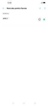 Oppo Find X2 Pro - Internet et roaming de données - Configuration manuelle - Étape 8