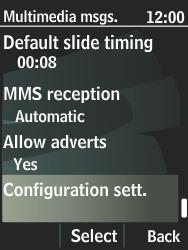 Nokia 301-1 - MMS - Automatic configuration - Step 10
