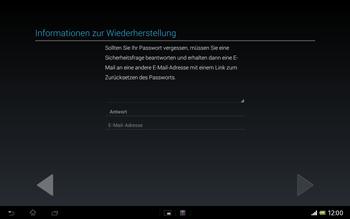 Sony Xperia Tablet Z LTE - Apps - Konto anlegen und einrichten - Schritt 15