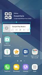 Samsung Galaxy A3 (2017) - Operazioni iniziali - Installazione di widget e applicazioni nella schermata iniziale - Fase 8