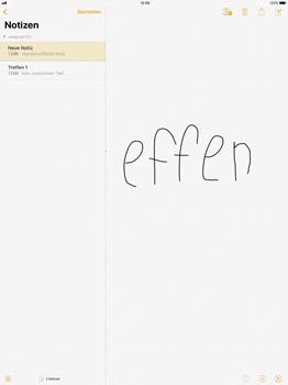 Apple iPad Pro 12.9 inch - iOS 11 - Neue Funktionen der Notizen - 1 / 1