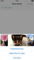 Apple iPhone 6 - MMS - Afbeeldingen verzenden - Stap 8