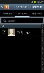 Samsung i8260 Galaxy Core - Mensajería - Escribir y enviar un mensaje multimedia - Paso 8