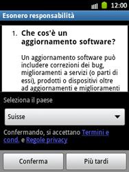 Samsung Galaxy Pocket - Software - Installazione degli aggiornamenti software - Fase 8