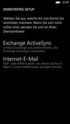 HTC Windows Phone 8X - E-Mail - Manuelle Konfiguration - Schritt 8