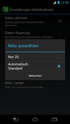 Motorola RAZR i - Netzwerk - Netzwerkeinstellungen ändern - 7 / 7