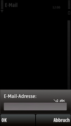 Nokia 5230 - E-Mail - Konto einrichten - 1 / 1