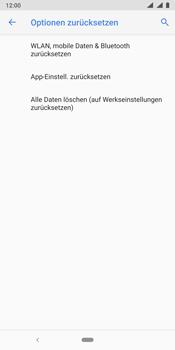 Nokia 9 - Fehlerbehebung - Handy zurücksetzen - Schritt 9