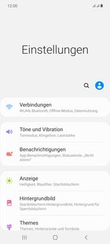 Samsung Galaxy Note 20 5G - Internet und Datenroaming - Prüfen, ob Datenkonnektivität aktiviert ist - Schritt 4