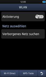 Samsung S8600 Wave 3 - WLAN - Manuelle Konfiguration - Schritt 5