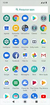 Motorola Moto G7 - Wi-Fi - Como configurar uma rede wi fi - Etapa 3