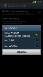 Samsung N7100 Galaxy Note 2 - Netzwerk - Netzwerkeinstellungen ändern - Schritt 7