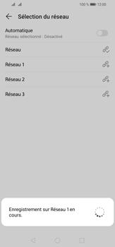 Huawei P30 Lite - Réseau - Sélection manuelle du réseau - Étape 10