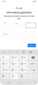 Samsung Galaxy A70 - Applications - Créer un compte - Étape 9