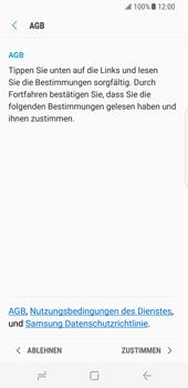Samsung Galaxy S8 - Datenschutz und Sicherheit - Samsung einrichten - 14 / 18