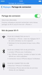 Apple iPhone 6s - Internet et connexion - Utiliser le mode modem par USB - Étape 8