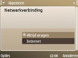 Nokia E72 - Internet - handmatig instellen - Stap 26