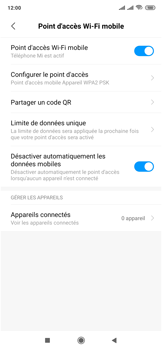 Xiaomi Mi Mix 3 5G - WiFi - Comment activer un point d'accès WiFi - Étape 10