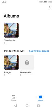 Huawei Y5P - Photos, vidéos, musique - Envoyer une photo via Bluetooth - Étape 5