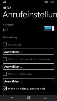 Microsoft Lumia 640 XL - Anrufe - Rufumleitungen setzen und löschen - Schritt 6