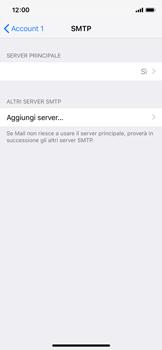 Apple iPhone XS - E-mail - configurazione manuale - Fase 20
