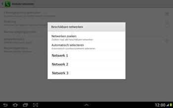 Samsung N8000 Galaxy Note 10-1 - Netwerk - gebruik in het buitenland - Stap 10