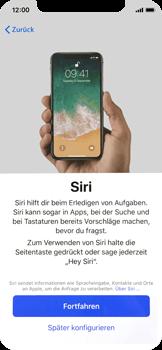 Apple iPhone X - iOS 11 - Persönliche Einstellungen von einem alten iPhone übertragen - 21 / 40