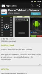Sony Xperia S - Applicazioni - Installazione delle applicazioni - Fase 7