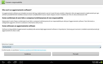 Samsung Galaxy Tab 2 10.1 - Software - Installazione degli aggiornamenti software - Fase 8