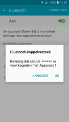 Samsung Galaxy S6 - Android Lollipop - bluetooth - headset, carkit verbinding - stap 7