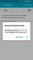 Samsung G920F Galaxy S6 - Bluetooth - Koppelen met ander apparaat - Stap 7
