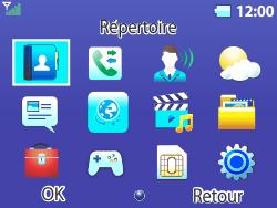 Bouygues Telecom Bc 311 - Contact, Appels, SMS/MMS - Ajouter un contact - Étape 3
