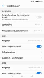 Huawei P8 Lite 2017 - Anrufe - Rufumleitungen setzen und löschen - Schritt 5