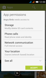 Alcatel One Touch Pop C3 - Applications - installing applications - Step 19