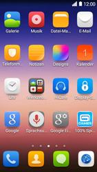 Huawei Ascend Y550 - E-Mail - Konto einrichten - Schritt 3