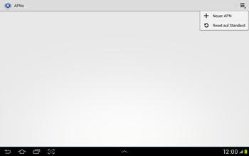 Samsung Galaxy Tab 2 10.1 - Internet und Datenroaming - Manuelle Konfiguration - Schritt 9