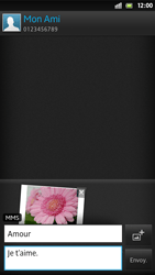 Sony LT26i Xperia S - MMS - envoi d'images - Étape 14