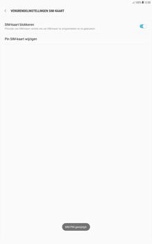 Samsung galaxy-tab-a-10-1-android-oreo - Beveiliging en ouderlijk toezicht - Hoe wijzig ik mijn SIM PIN-code - Stap 11