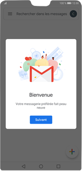 Huawei P20 Pro Android Pie - E-mail - 032a. Email wizard - Gmail - Étape 13