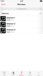 Apple iPhone 6 Plus iOS 8 - Photos, vidéos, musique - Ecouter de la musique - Étape 4