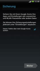 HTC One S - Apps - Einrichten des App Stores - Schritt 15