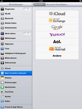 Apple iPad 4 - E-Mail - Konto einrichten - Schritt 5