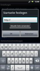 Sony Ericsson Xperia X10 - Internet - Apn-Einstellungen - 1 / 1
