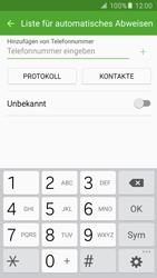 Samsung Galaxy S5 Neo - Anrufe - Anrufe blockieren - 1 / 1
