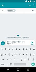 Nokia 3.1 - Contact, Appels, SMS/MMS - Envoyer un SMS - Étape 10